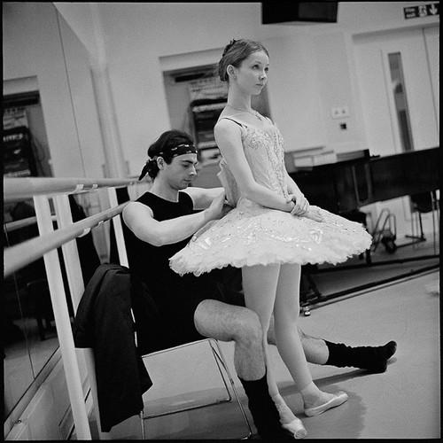 Evgenia Obraztsova in rehearsal