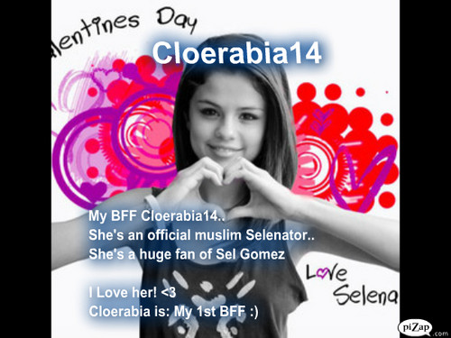 For My Awesome And My 1st BFF cloerabia14 ♥♥♥