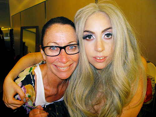 Gaga - Vanity Fair photoshoot behind the scenes