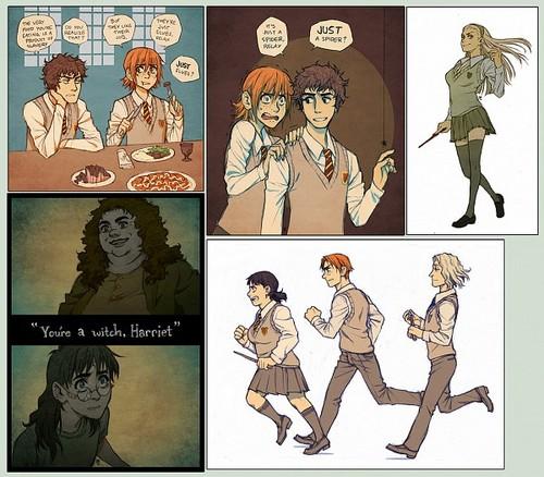 Genderbend Harrypotter