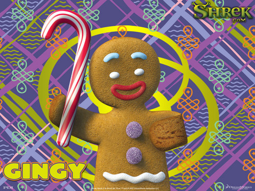 Gingy achtergrond