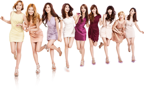 Girl's Generation/SNSD karatasi la kupamba ukuta titled Girls' Generation LG 3D TV