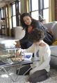 Gugu Mbatha-Raw and David Mazouz
