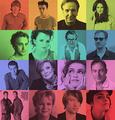 Harry Potter Cast-RAINBOW!