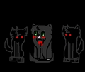 Hollyleaf's guilt - warriors-novel-series fan art