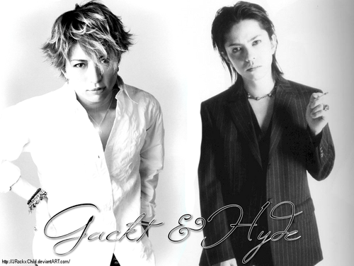 Hyde and Gackt MC WP