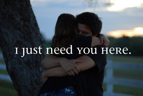 I Need You!<3