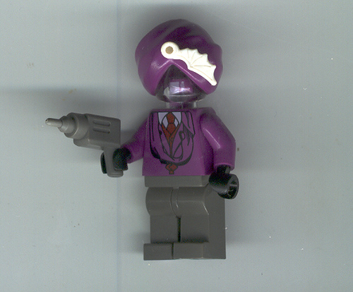 Invisible man lego
