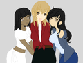 Israel, Sri Lanka & Slovakia - hetalia-fan-characters photo
