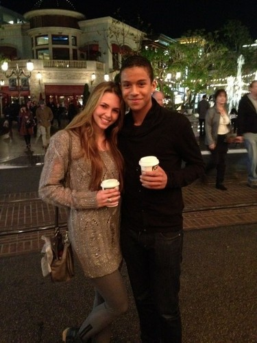 Jaafar & his Girlfriend