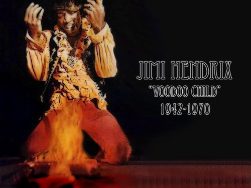 """James Marshall """"Jimi"""" Hendrix - Johnny Allen Hendrix; November 27, 1942 – September 18, 1970"""