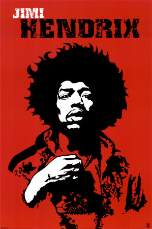 """James Marshall """"Jimi"""" Hendrix -johnny Allen Hendrix; November 27, 1942 – September 18, 1970"""