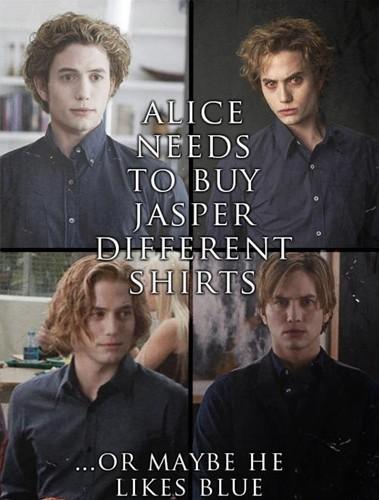 Jasper's shirts funny :)