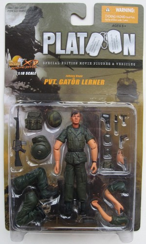Johnny Depp Platoon  Action Figures