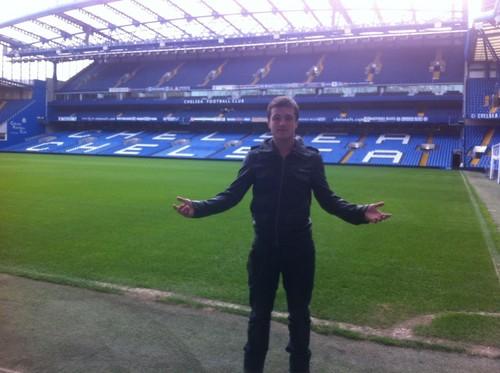 Josh at Stamford Bridge