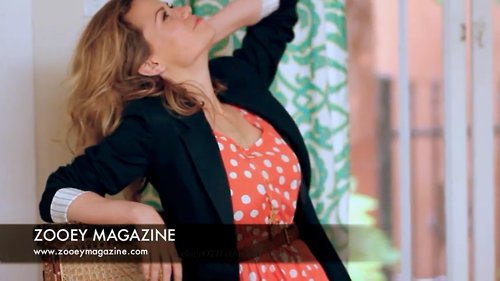 Joy- behind the scenes of Zooey Magazine shoot - bethany-joy-galeotti Photo
