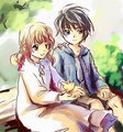 Kamui Shirou and Kotori Monou (X/1999)