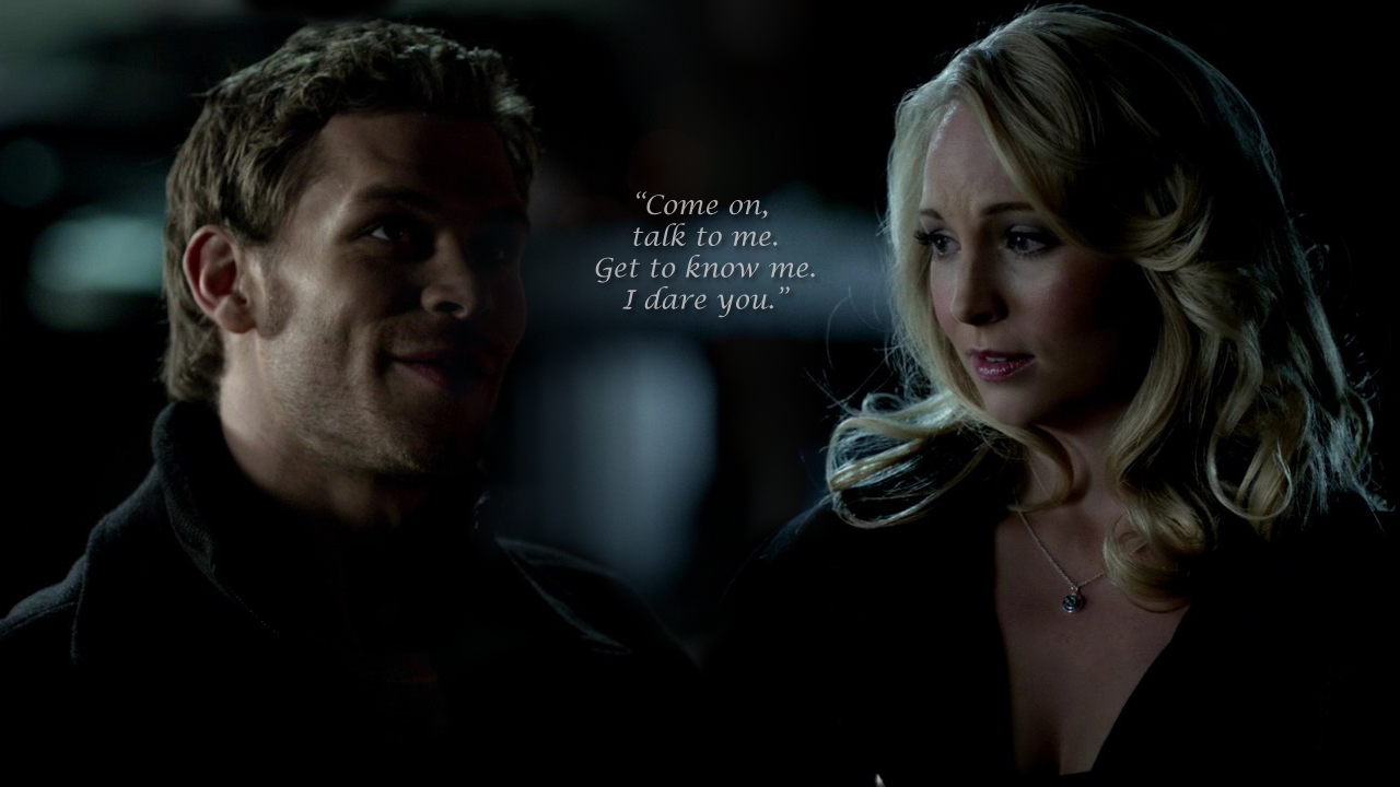 who is caroline from vampire diaries dating Vampire diaries: klaus and elena i have to admit i'm feeling nervous bonnie and caroline are coming over telling them i have something i'm dating klausshock.
