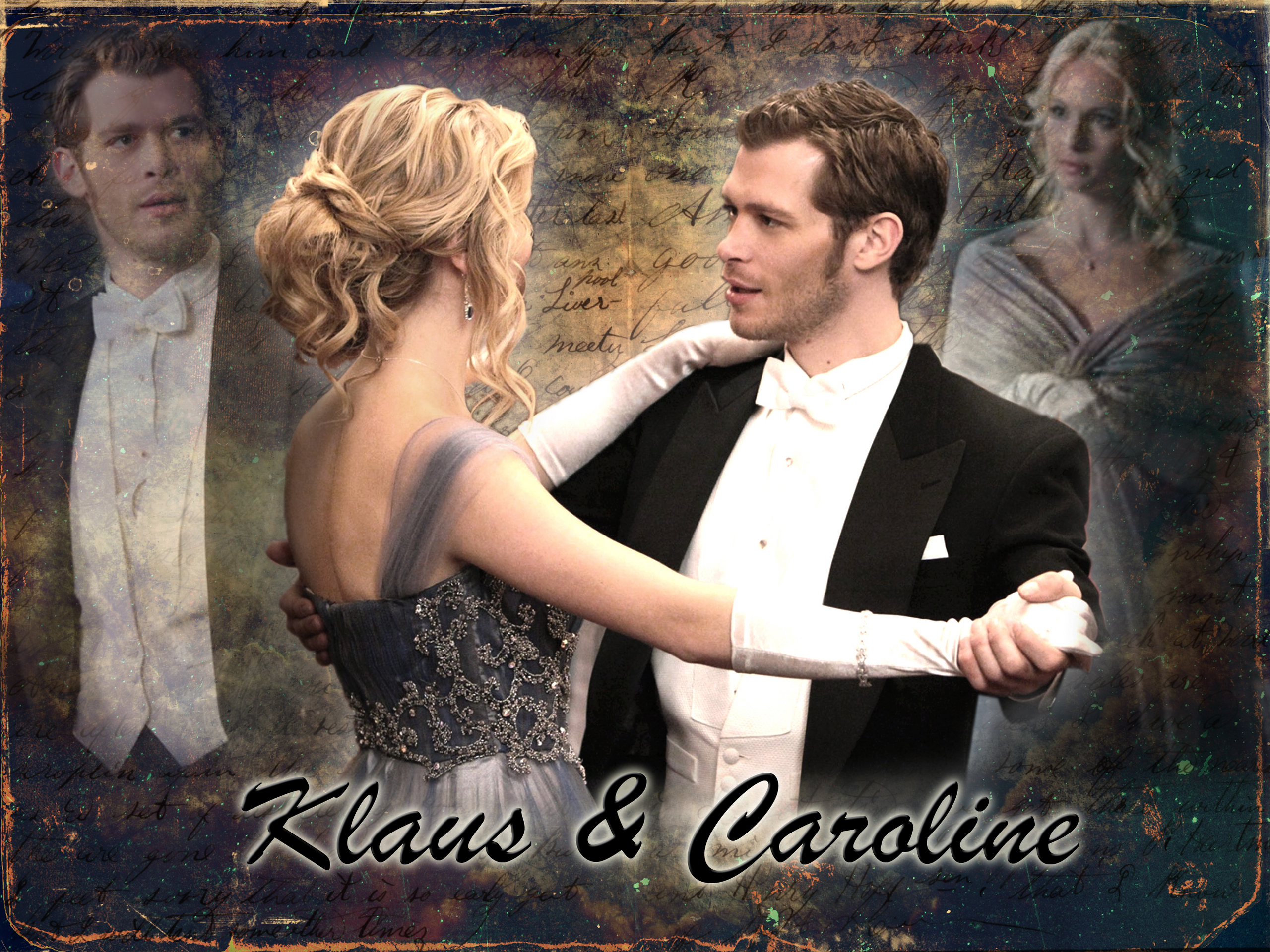 klaus and caroline radioactive dating