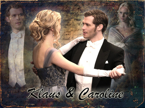 Klaroline - the-vampire-diaries-tv-show Wallpaper