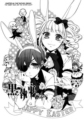 Kuroshitsuji manga cover chapter 66