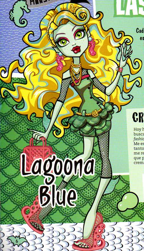 Monster High Lagoona Blue Wallpaper