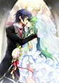 Lelouch & CC's wedding