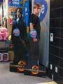 Life-sized Katniss and Peeta standees at FYE - the-hunger-games-movie photo