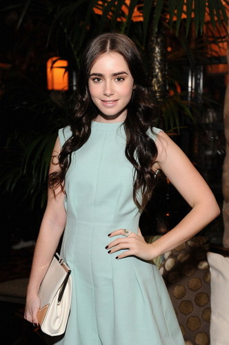 Lily Attends Marni At H&M Collection Launch