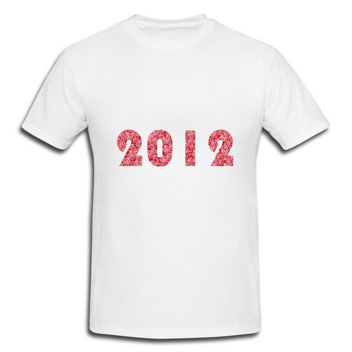 Lucky wolke 2012 New Jahr T-Shirt