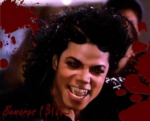 MJ's a vampire! O.O
