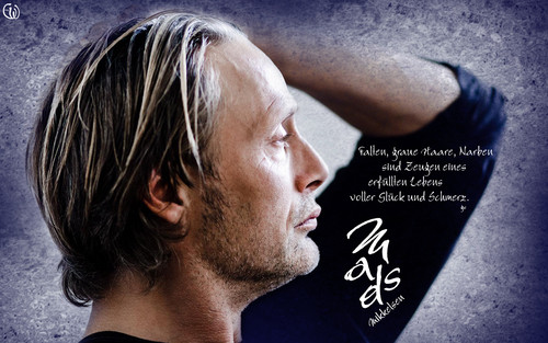 Мадс Миккельсен Обои called Mads Mikkelsen by Michael Bothhager
