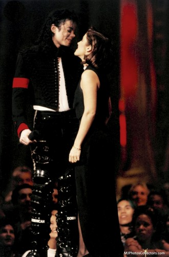 Michael and Lisa Marie
