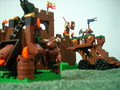 Minotaur Attack - lego photo