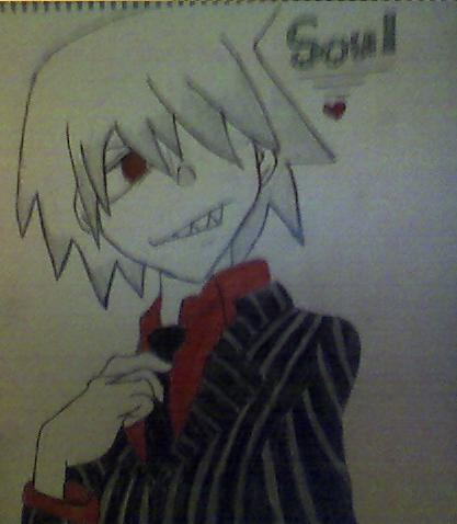 My Soul Eater drawing!
