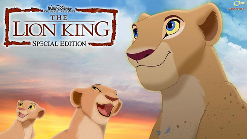 Nala Lion King Life kertas dinding HD