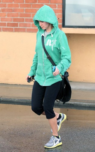 Nikki Reed out at the gym for a workout session (February 15).