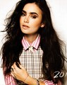Nylon Magazine Scans [HQ] - lily-collins photo