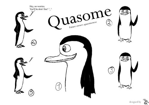 OC quasomeness (first drawings)