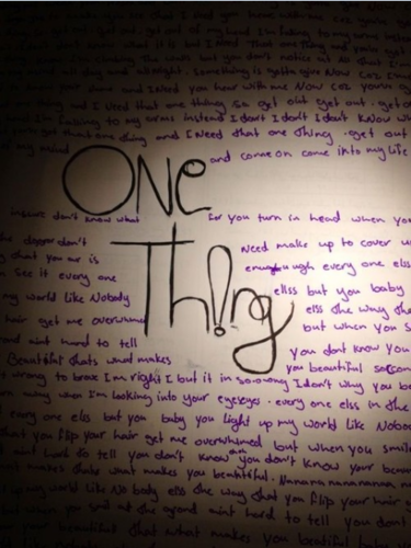 One Thing ! x <#3