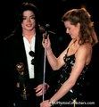 Princess Stephanie and MJ - michael-jackson photo