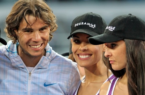 Rafa has likes also brunettes