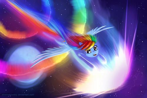 虹 Dash's speed