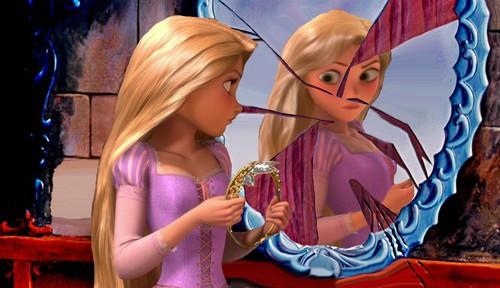 Rapunzels Broken Reflection ( Beauty & The Beast)