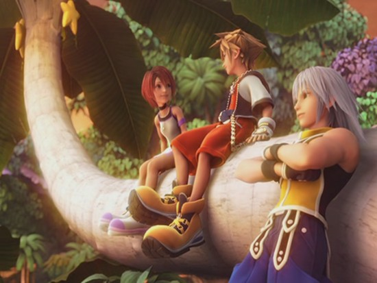 Kingdom Hearts (I & II) Riku-Sora-and-Kairi-riku-29180106-550-413