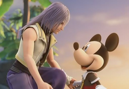 Riku and Mickey