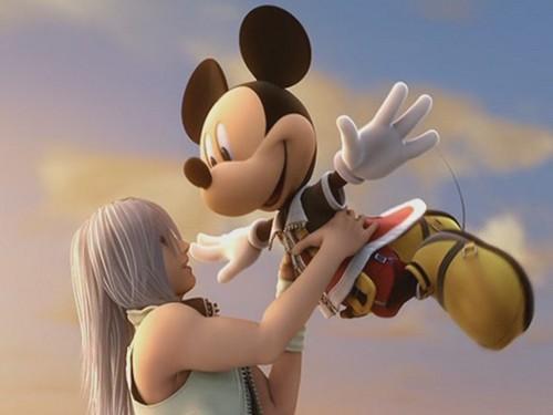 Riku and Mickey