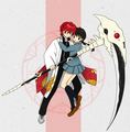 Rin-ne & Sakura  - the-random-anime-rp-forums fan art