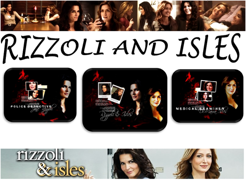 Rizzoli & Isles wallpaper entitled Rizzoli and Isles