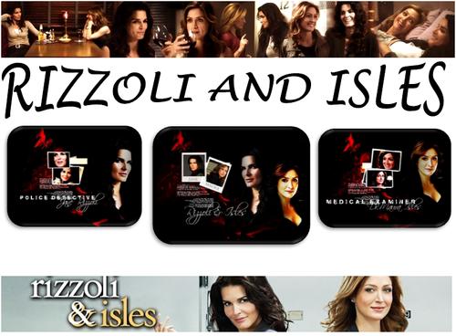 Rizzoli & Isles Обои titled Rizzoli and Isles
